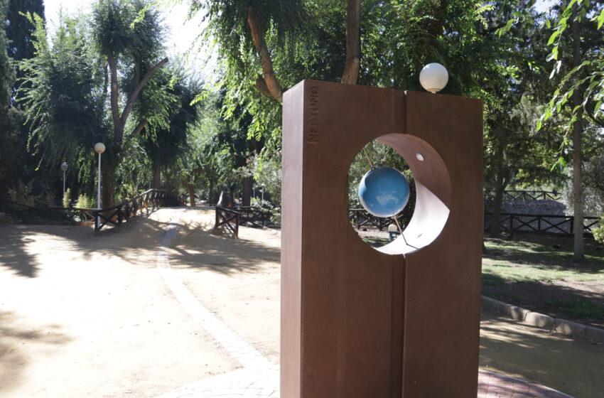 Rehabilitado el Paseo del Sistema Solar de Manzanares