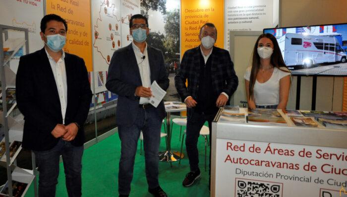 Presentación de la Red de Áreas para Autocaravanas de la Diputación
