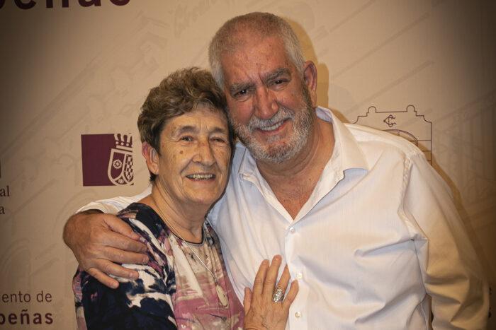 Teresa Sánchez Laguna y Juan Camacho