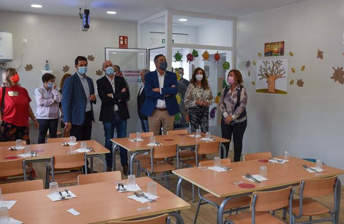 Argamasilla de Alba cuenta con un nuevo servicio de comedor escolar para niños desde los 3 años de Educación Infantil a 6º de Educación Primaria