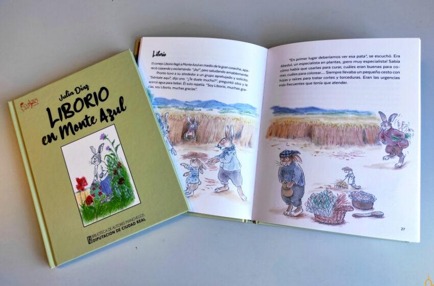 """La Biblioteca de Autores Manchegos presenta el cuento infantil """"Liborio en Monte Azul"""""""