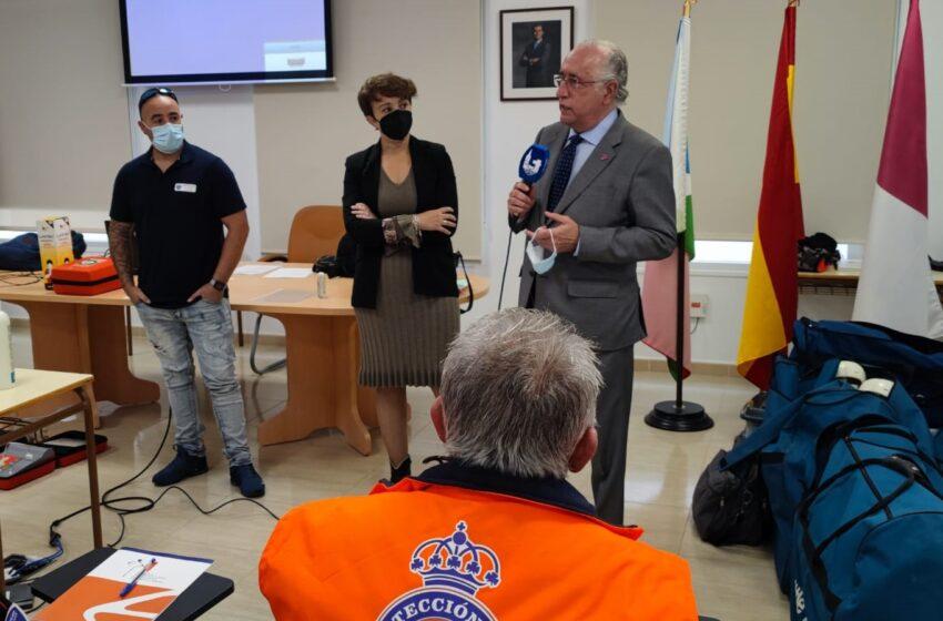 El Gobierno de Castilla-La Mancha celebra en Socuéllamos un curso de formación básica para voluntarios de Protección Civil
