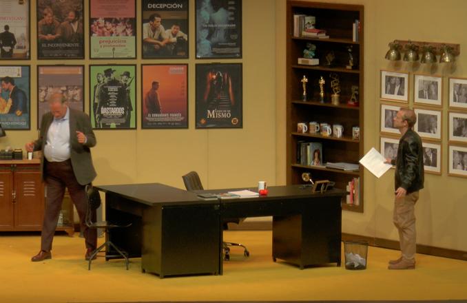 'Trigo sucio' levantó ayer viernes el telón del teatro de Valdepeñas