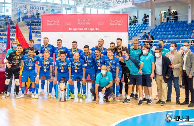 Viña Albali Valdepeñas consigue el Trofeo Copa Diputación tras vencer a Manzanares Quesos el Hidalgo por 3-2