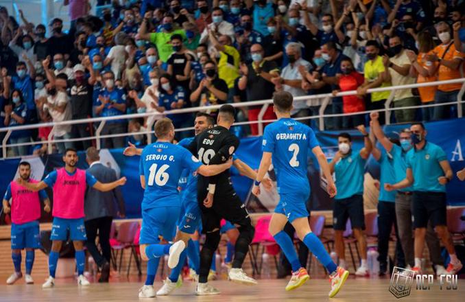 Viña Albali Valdepeñas comienza con buen pie la temporada (3-0)