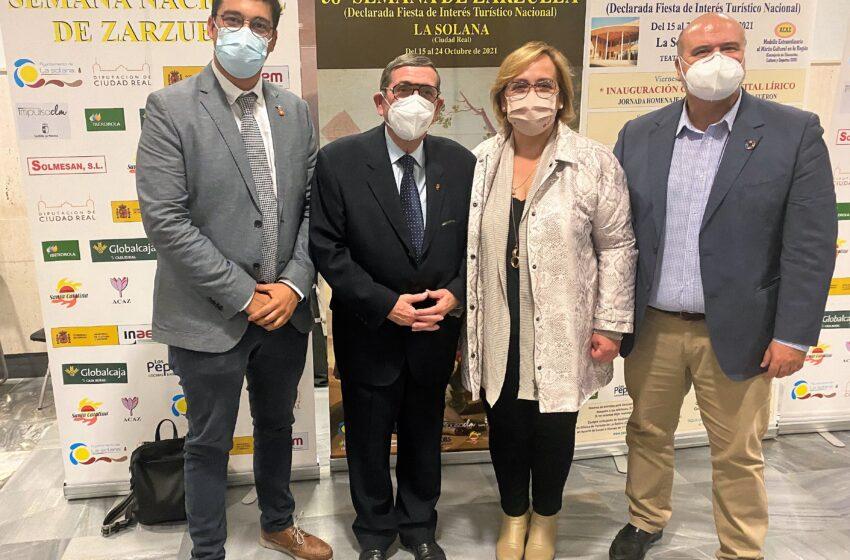 El Gobierno de CLM felicita a la organización de la Semana de la Zarzuela de La Solana por el éxito de su trigésimo octava edición